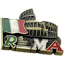 Bella Imanes para Refrigerador Fridge Magnet Sticker Frigerator Imán Viaje Souvenir Italia Coliseo Roma Clásica Decoración