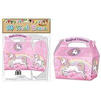 playwritegroup 10 Magical unicorns treat boxes ,food,gifts,by boho island