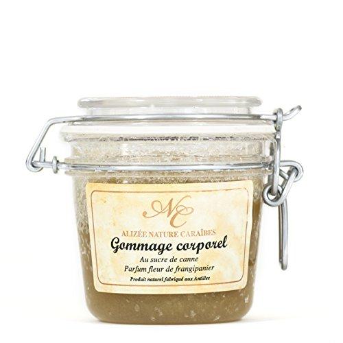 Gommage au sucre de canne parfum frangipanier