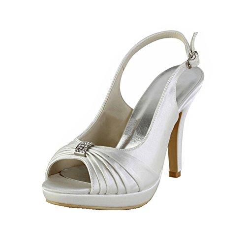 Heel Xtwix5nqgr Escarpins Femme Ivory Minitoo 10cm chaussures Pour AxY5wqw6