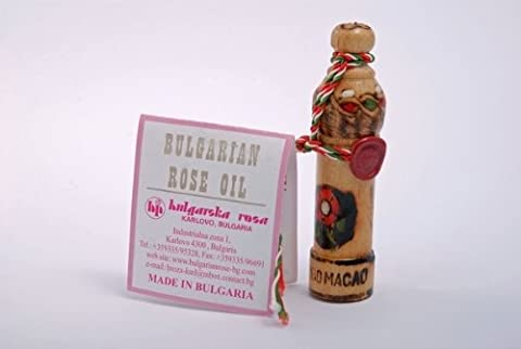 Bulgarian Rose Oil 1g Pure Rose OTTO Essential oil with