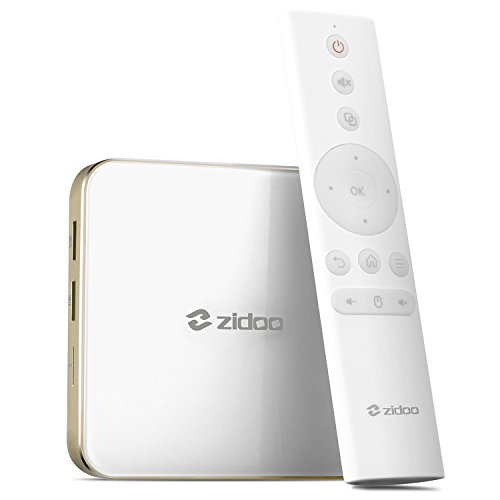 Android 7.0 TV Box Zidoo H6 Pro Quad-Core 2G/16G Dual Band WiFi HDMI 2.0a 4K H.265 UHD 1000Mbps Media Player