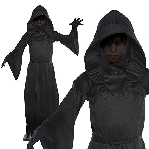 Phantom der Finsternis Halloween Kostüm Kind 8-10 (Kostüm Finsternis Herr Der)
