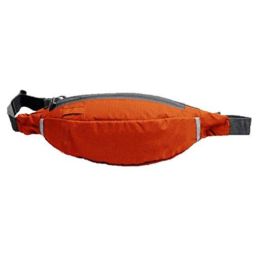 Moda Colorata Sport All'aria Aperta Tasche Tasche Equitazione Esercizio Borsa Tapis Roulant Satchel Moto,Black Orange