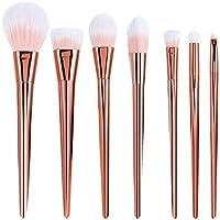 Hosaire 7Pcs sistema de cepillo del maquillaje profesional de los cepillos de alta Blush cepillo del maquillaje