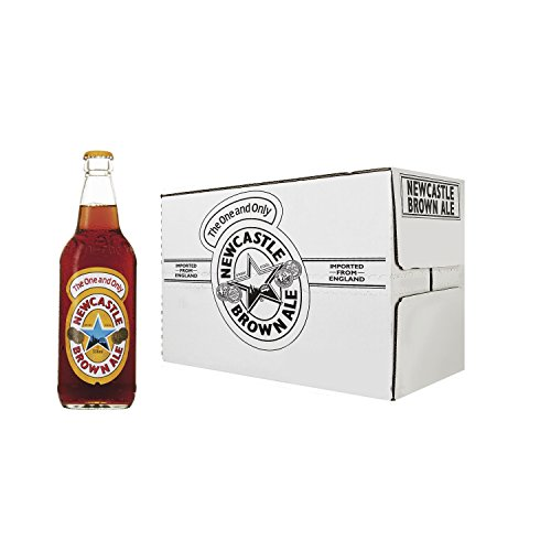 Newcastle Beer - Box of 12 Bottles x 550 ml - Total: 6.60 L