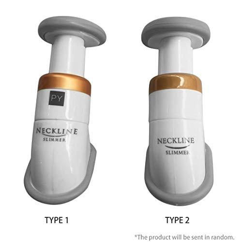 Hermosairis Beweglicher Ausschnitt-dünnerer Kinnmassager-Ausschnitt-Prüfvorrichtung-dünner Kiefer verringern Doppelkinn mit Tragetasche Unisex