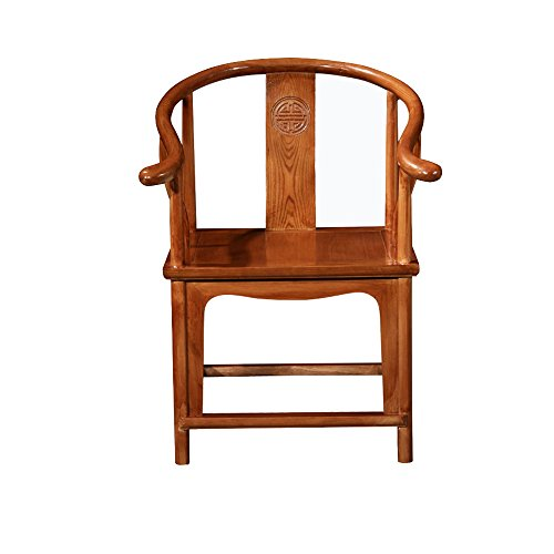 Mahagoni-massivholz Sitz (Sitze LHA Tee Stuhl Stuhl Stuhl Home Freizeit Esstisch Stuhl Massivholz Esszimmerstuhl Chinesische Antike Kung Fu Buchenholz Mahagoni (Farbe : Holzfarbe))