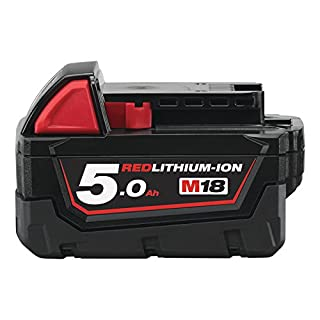 Milwaukee Akku, M18 B5, 18 V/5.0 Ah Red Li-Ion