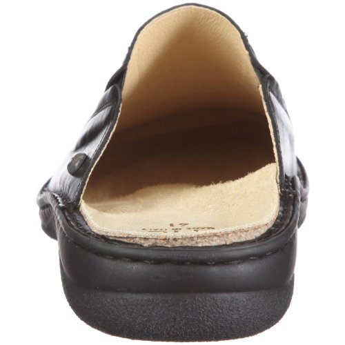 Hans Herrmann Collection Napoli 02U0063-10 Herren Clogs & Pantoletten Schwarz/Nero