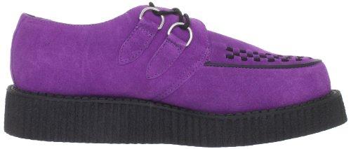 T.U.K. A8280 Lo Mondo, Baskets Basses mixte adulte Violet - Violett (Purple/Black)