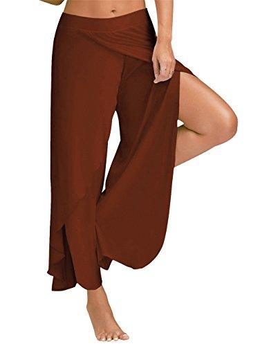 Hippolo - Legging de sport - Femme Marron clair marron clair 3xl marron clair