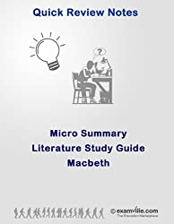 Micro Summary: Macbeth (Quick Literature Study Notes) (English Edition)
