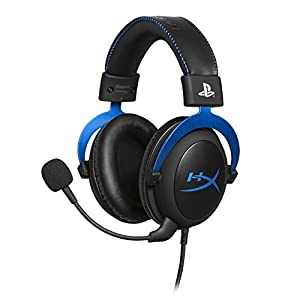 HyperX Cloud Gaming Headset blau PS4
