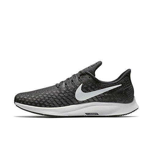 Nike Herren Air Zoom Pegasus 35 Laufschuhe, Schwarz (Black/White/Gun Smoke/Oil Grey 001), 44 EU
