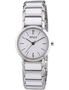 Bering Time Damen-Armbanduhr XS Ceramic Analog Quarz verschiedene Materialien 30226-754