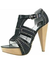 1TO3 - Sandale en jeans