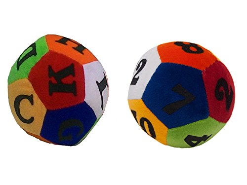Deals India Numeric soft toy ball and Deals india Alphabet soft toy ball Combo  available at amazon for Rs.119