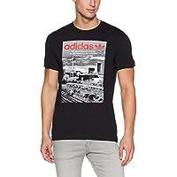 adidas Spree Vollgas Camiseta, Hombre, Negro, XS