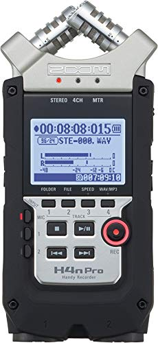 Zoom Zoom H4N PRO Digital Multitrack Recorder Tappo per orecchie 6 Centimeters Nero (Black)