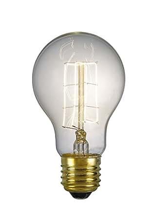 40 Watt ES (E27) Vintage Lampe Ampoule GLS Transparent