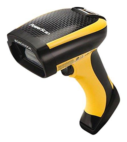 Datalogic PowerScan PM9500 1D/2D Foto-Diode, Schwarz, Gelb, Handheld Barcode Reader – Barcode-Scanner (1D/2D, Foto-Diode, Aztec Code, Data Matrix, MaxiCode, Micro QR Code, QR Code, 680 nm, 0 – 360 °, 0 – 40 °)