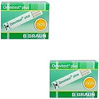 Preisvergleich für #B. Braun Omnitest plus Blutzucker Teststreifen 4 x 25 Stück