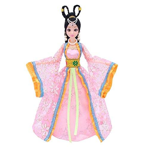 (Prinzessin / Göttin Spielzeug chinesischen alten Kostüm Menschen Puppen Mädchen Dressup-P)
