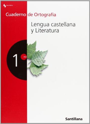 Cuaderno de Ortografía Lengua Castellana y Literatura 1 Secundaria - 9788429480221