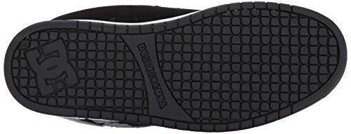 DC Shoes Court Graffik, Chaussures de skate homme Noir/gris blindé