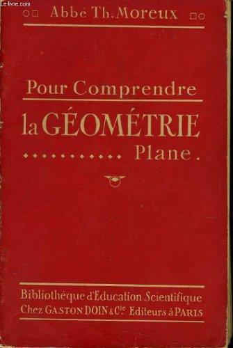 Pour comprendre la geometrie plane
