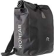 Rohtar 3in1 Fahrradtasche - wasserdicht & reflektierend - als Gepäckträgertasche, Umhängetasche & Ruck