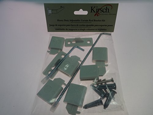 Kirsch LockSeam Curtain Rod projection extensions by Kirsch