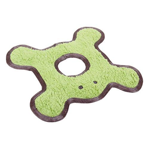 MAJOR DOG Frosch mit Plüsch Hund Apportierspielzeug