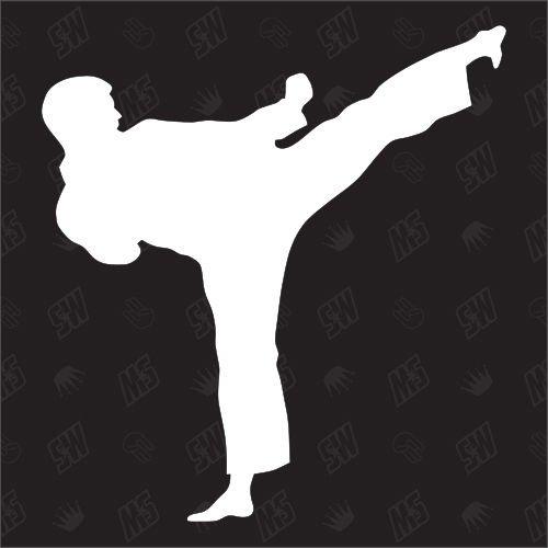Karate Karateka Kampfsport Schlüsselanhänger Schlüsselband Keyholder