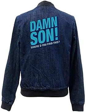Damn Son Bomber Chaqueta Girls Jeans Certified Freak