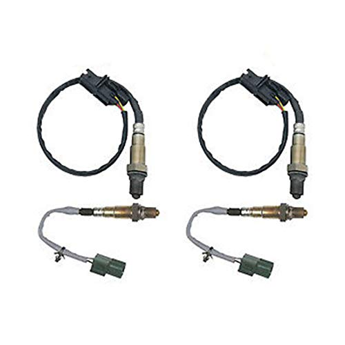 HZYCKJ Austausch des stromabwärtigen Sauerstoff-O2-Sensors OEM # 234-4835 - Motor Nissan Titan