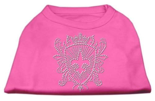 Mirage Hunde-Shirt, Strass-Lilien-Muster -
