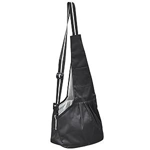 Digiflex-Medium-Black-Dog-Carrier-Shoulder-Bag-Convenient-Cosy-Pet-Travel-Sling
