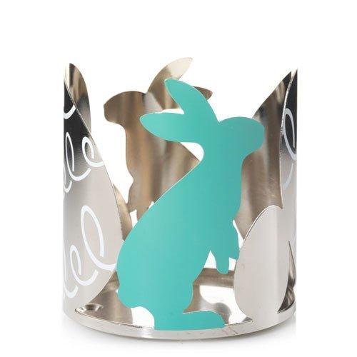 Yankee Candle Kerzenhalter/Kerzenhalter im Glas, groß, Motiv Ostern Springs, Chrom (Candles Spring Yankee)