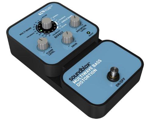 SOURCE AUDIO Soundblox Multiwave Bass Distortion SA125 Pedal de distorsión para bajo (batería alcalina)