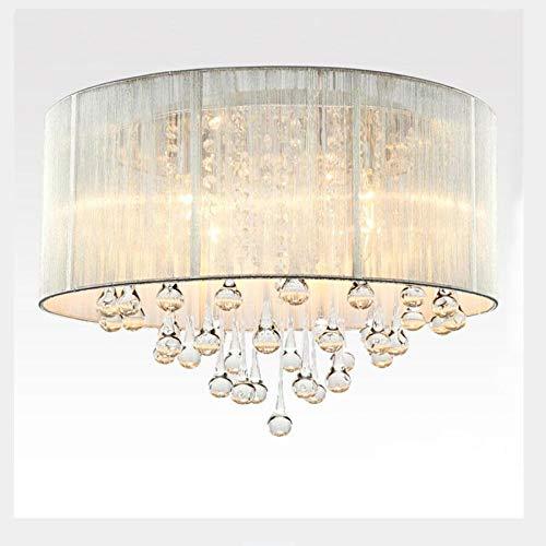 Acquista 2018 Nuovo Arrivo Lampadario A LED Luce D'oro Lampada A Sospensione Lampade Lampada Da Pranzo Soggiorno Ristorante Lustres De Cristal A