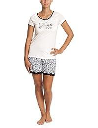 Vive Maria Damen Zweiteiliger Schlafanzug Lucky Girl Short Pyjama