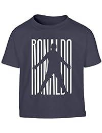 2019 Latest Design T-shirt Cristiano Ronaldo Cr7 Bianca Nera Bimbo Bambino Bambina Juve Calcio Abbigliamento E Accessori