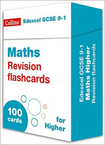 New Edexcel GCSE 9-1 Maths Higher Revision Flashcards (Collins GCSE 9-1 Revision)