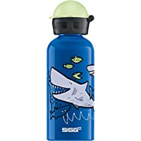 Sigg Sharkies Gourde d'eau Mixte Enfant, Bleu, 0,4 L