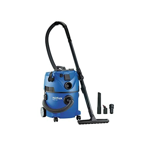 414D6xDuxvL. SS500  - Nilfisk Multi ll 30T Wet and Dry Vacuum Cleaner – Indoor & Outdoor Cleaning – 22 Litre Capacity with 1400 W Input Power…