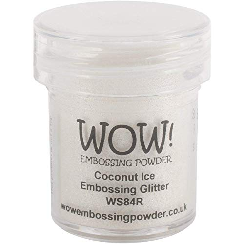 Wow Embossing Powder 15ml-Coconut Ice