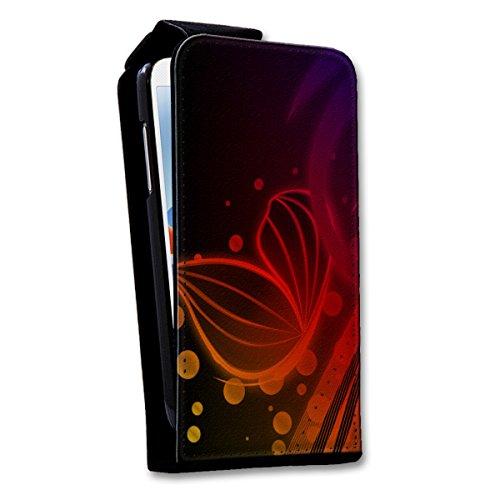 Flip Style Vertikal Handy Tasche Case Schutz Hülle Schale Motiv Foto Etui für Apple iPhone 6 / 6S - Flip V15 Design2 Design 5