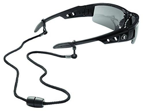 Ergodyne Squids 3251 Rope Slip Fit EyeWear Lanyard, Black by Ergodyne